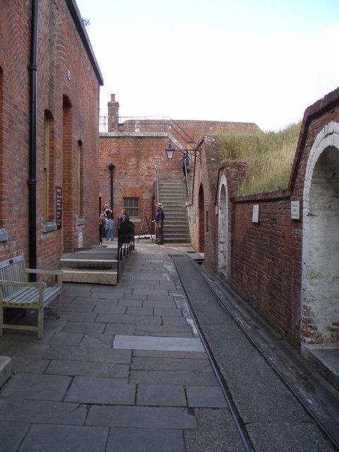 Passageway at Fort Nelson