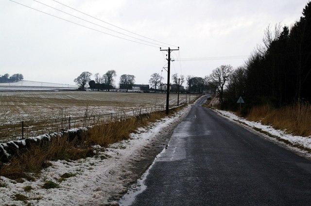 Mains of Glasswell Farm, near Kirriemuir