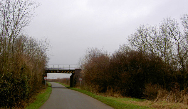 Railway bridge near Kirton
