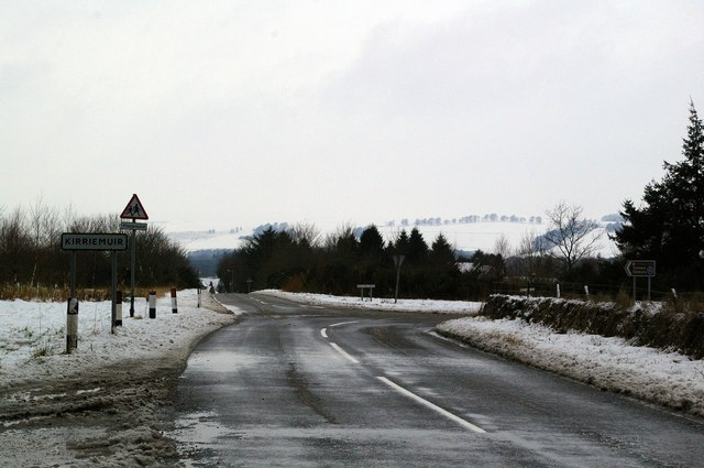 Northmuir, Kirriemuir junction