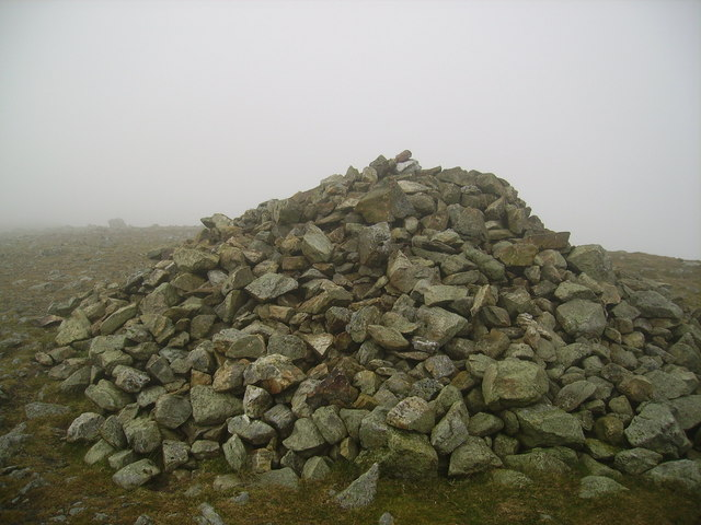 Summit Cairn. Nethermost Pike