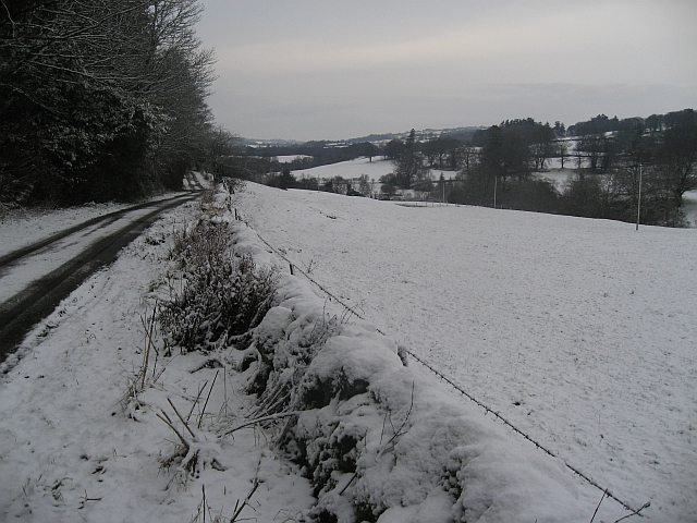 The road to Auchendolly
