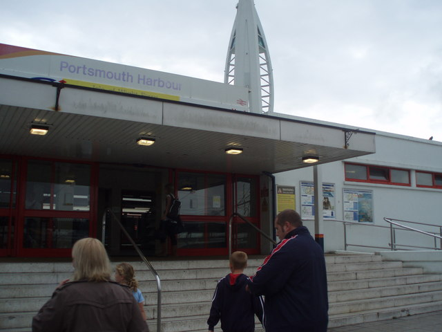 Entrance to Harbour Station