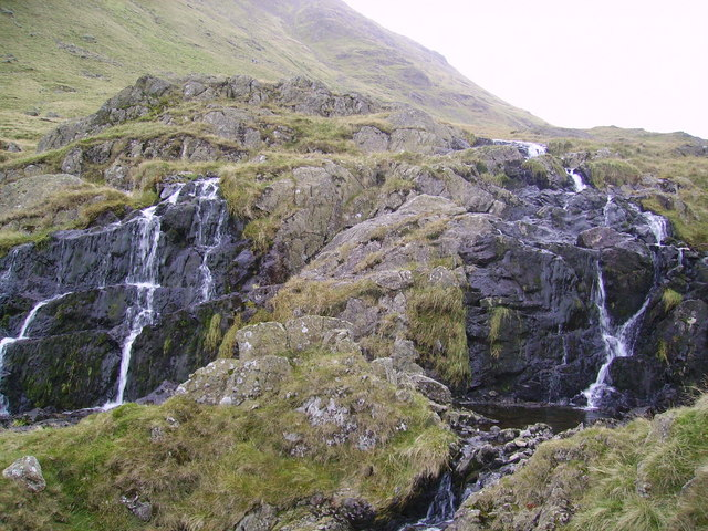 Waterfall, Grisedale Beck
