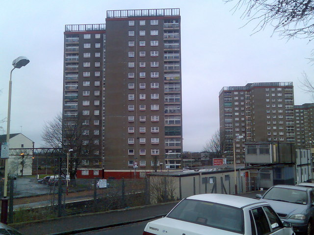 Dalmuir highrise flats