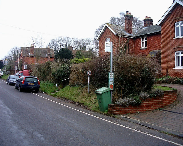 Barton Stacey - Bus Stop (2)