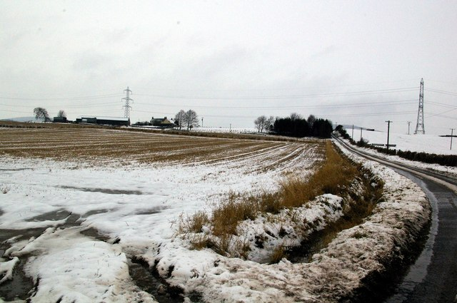 Kintyrie Farm near Kirriemuir