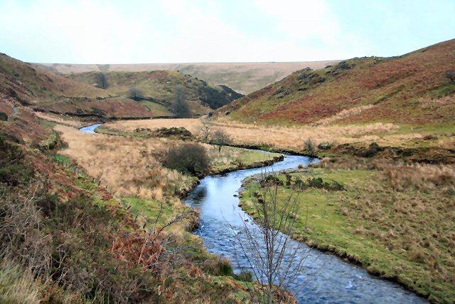 River Barle valley