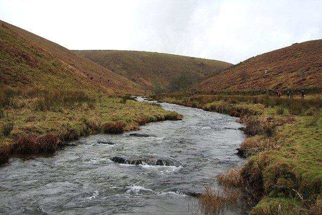 River Barle below Cow Castle
