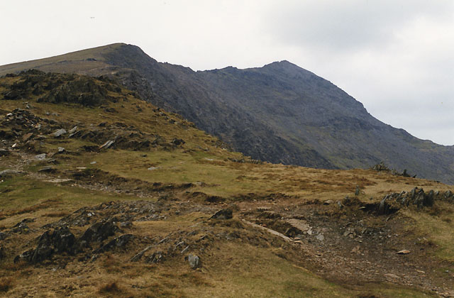 On the south ridge of Snowdon