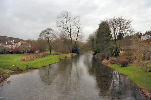 River Barle from Withypool bridge