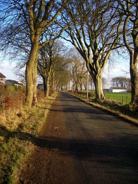 Shields Road Near East Kilbride