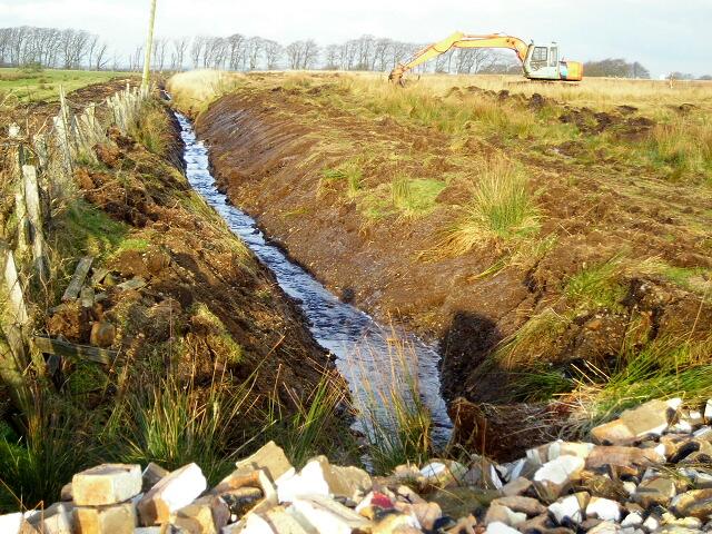 Drainage Improvement Near Meadowhead