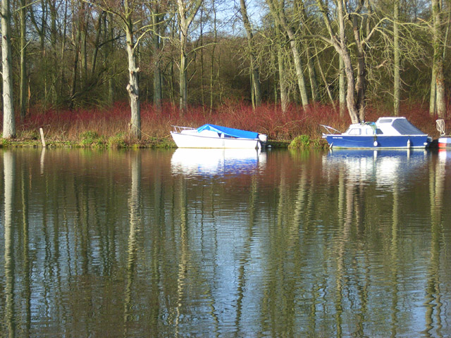Boats at Danesfield