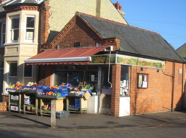 Superior corner shop