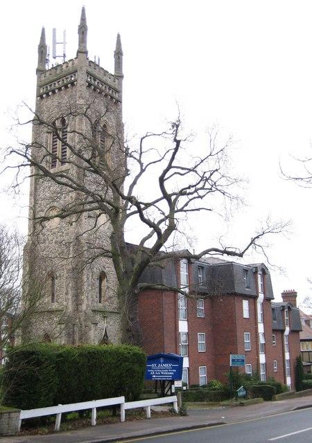 Buckhurst Hill: Former Congregational Church Tower