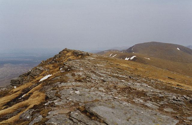 Summit of Beinn Achaladair