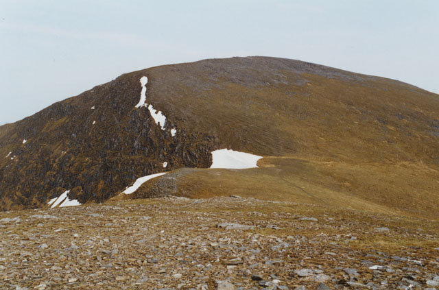 North eastern end of Meall Buidhe