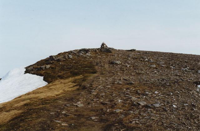 The summit of Beinn a' Chreachain