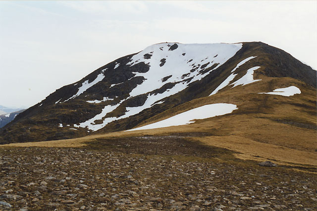 Beinn a' Chreachain, from the north east ridge