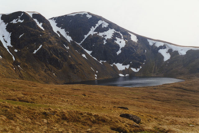 Eastern slopes of Coire an Lochain