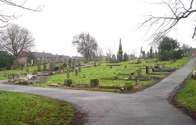 Gildersome Cemetery - Church Street