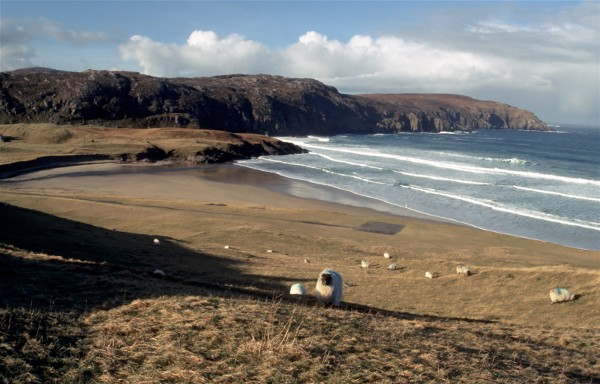 Cliff beach, Isle of Lewis