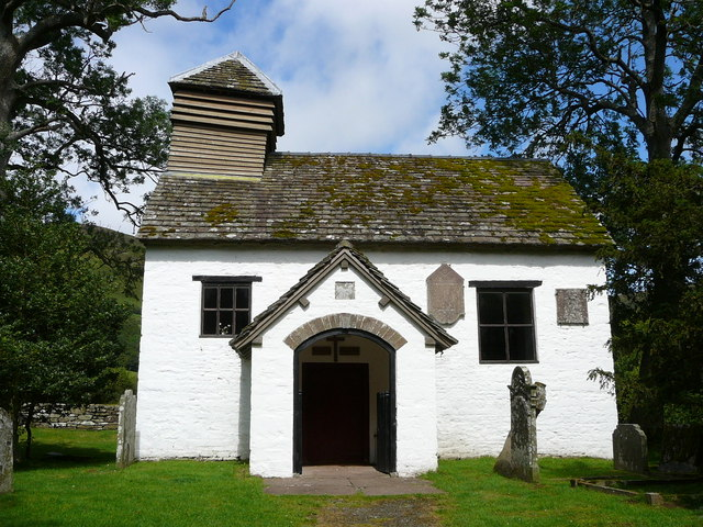 The chapel at Capel-y-ffin