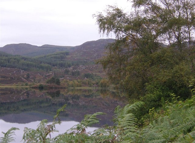 Loch a' Chlachain from the road