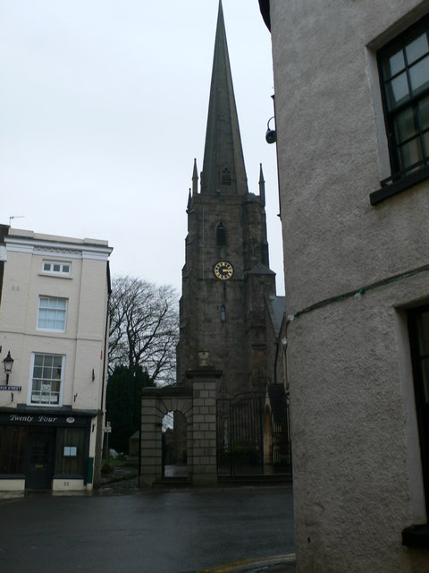Church spire, Monmouth