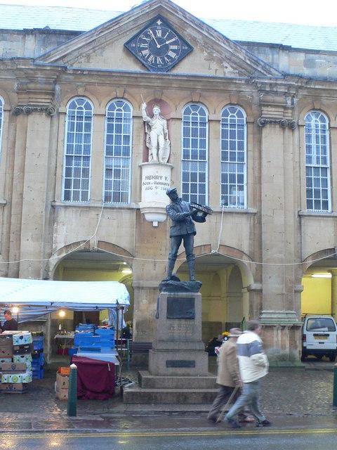 Agincourt Square, Monmouth