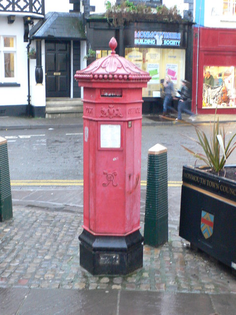 Victorian post box, Monmouth