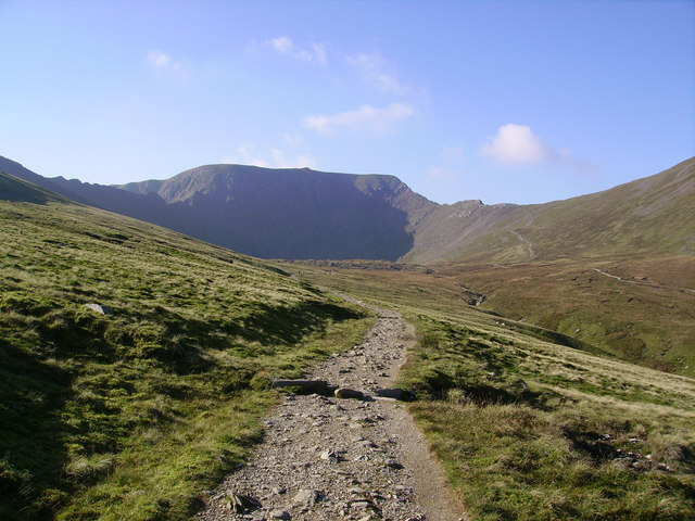 Path to Red Tarn