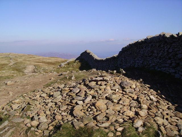 Birkhouse Moor, Summit Cairn