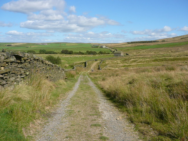 On the Bronte Way near Boulsworth Dyke