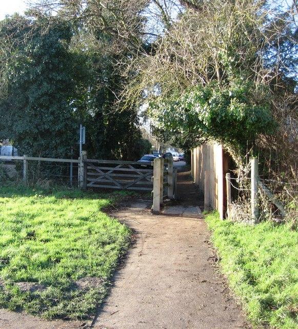 Footpath & Gate