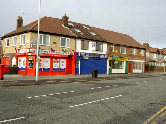 Shops on Reeds Lane