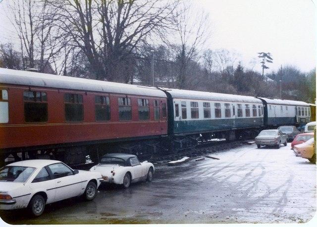 Watercress Belle Wine & Dine Train.
