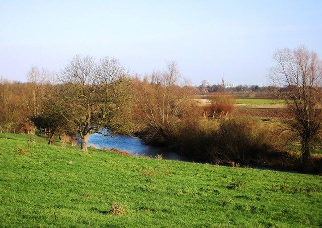 View towards Cambridge