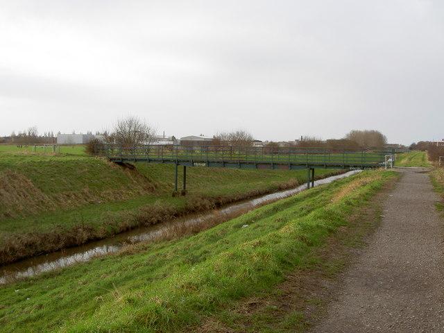 Footbridge over The Birket