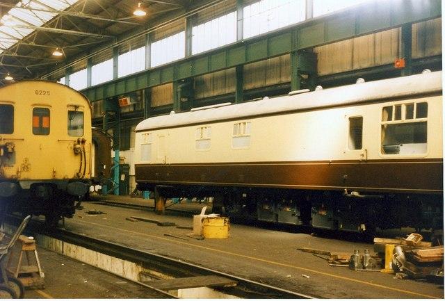 RB 1668 at Selhurst Works.