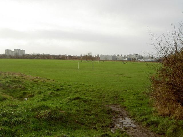Playing Fields near Leasowe.