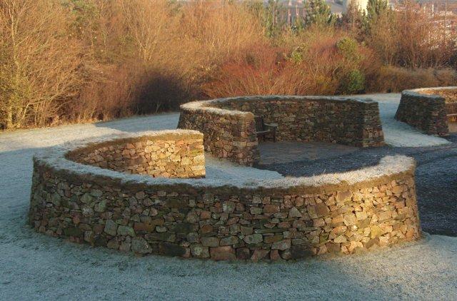 Millennium Garden, Heriot-Watt University