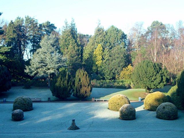 Sunken lawn, Heriot-Watt University