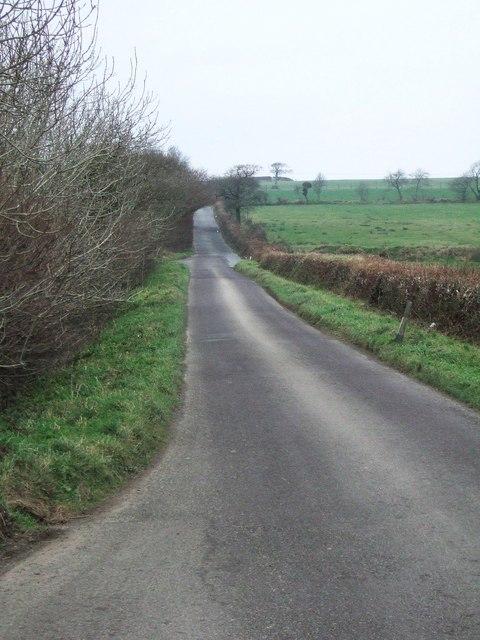 Road past Deep Moor