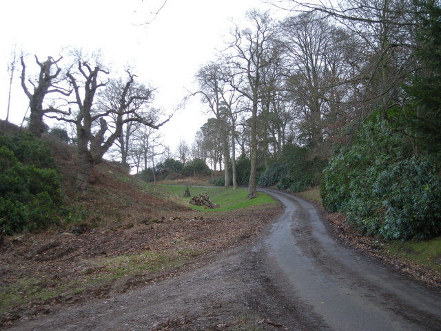 Stanley Hall driveway