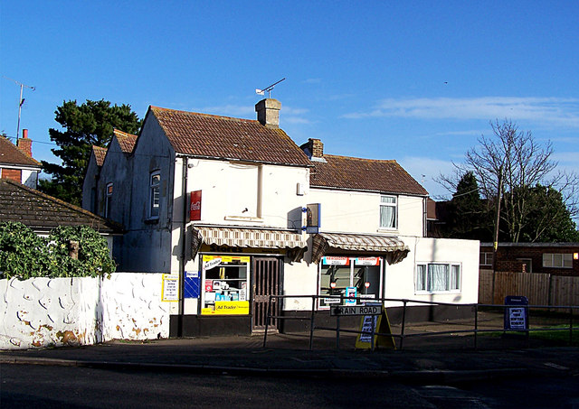 Village shop, Lower Stoke