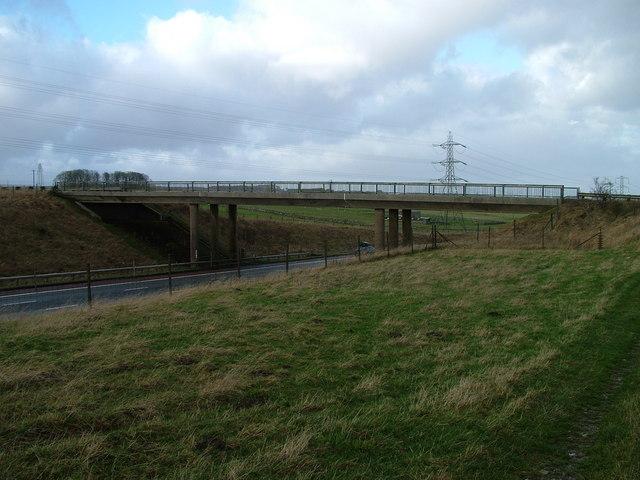 Bridge over M6 northbound
