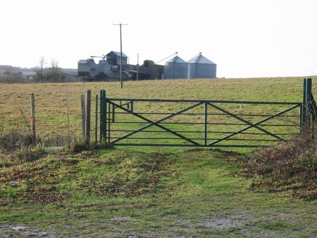 Farm buildings at Kittington Farm