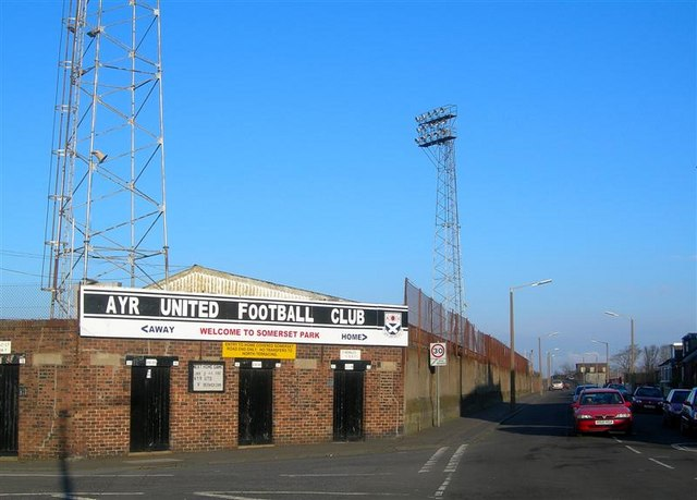 The Home Of Ayr United Football Club